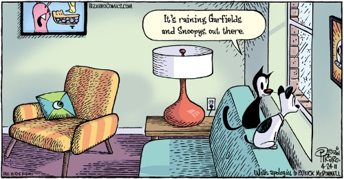 Bizarro Easter Cartoon ft. Mutts