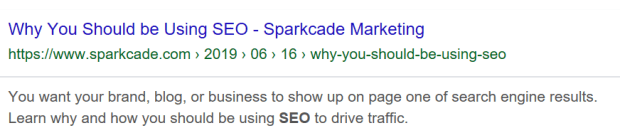 SEO snippet