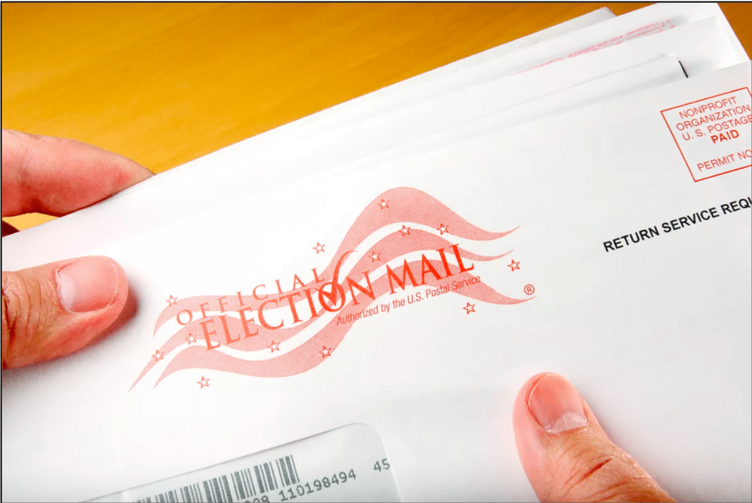 Vote-By-Mail envelope