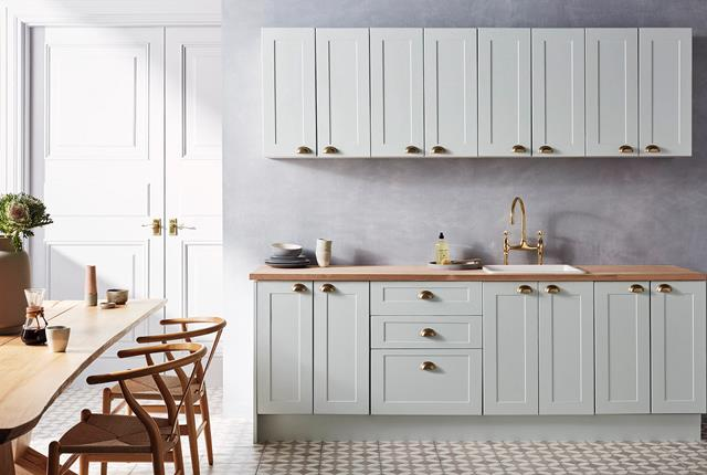 Sage green is set to be big in the kitchen