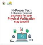 Npower Tech List of Shortlisted Candidates for Physical verification (Date & venue)