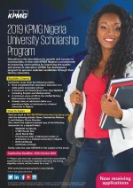 KPMG Undergraduates Scholarship 2019/2020- See how to Register