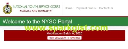 NYSC Portal