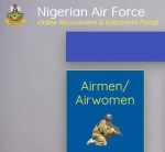 nafrecruitment.airforce.mil.ng 2020: Nigerian Air Force Recruitment & Enlistment Registration Portal Login