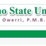 IMSU - IMO STATE UNIVERSITY POST UTME