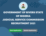 rsjsc.rivjobs.ng  Recruitment 2021 – Apply  for Rivers State Judicial Service Recruitment