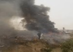 JUST IN: Plane crashes in Abuja – 6 Feared Death as Military Air Craft Crashes in Abuja