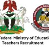 Federal Ministry of Education Teachers Recruitment`