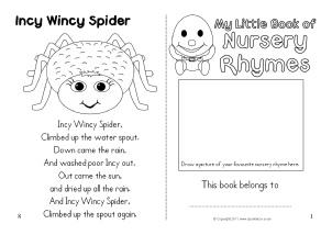 nursery rhyme coloring pages # 15