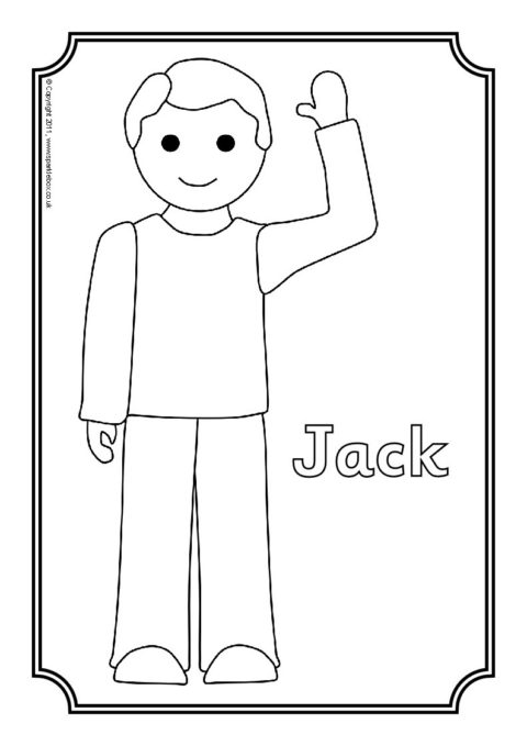 jack and the beanstalk coloring pages # 16