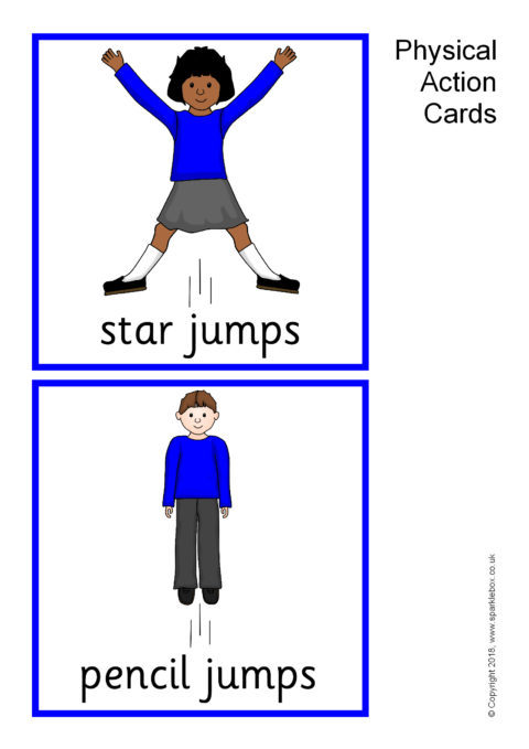 Physical Action Cards