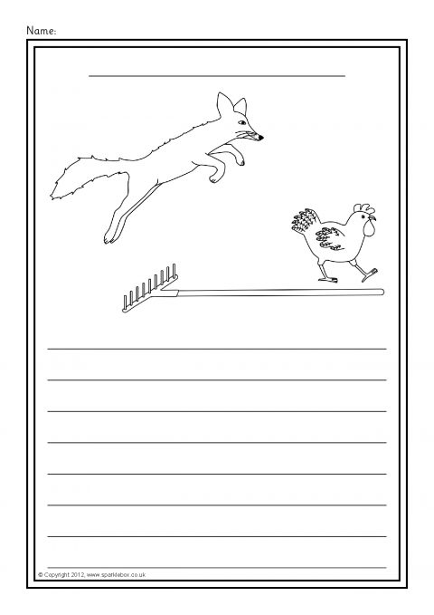 Rosie S Walk Colour And Write Worksheets