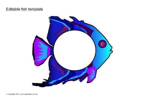 Editable Fish Templates