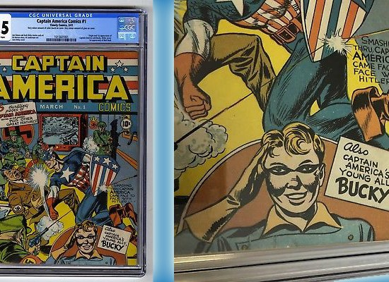 Captain America Comics #1 Up For Sale!