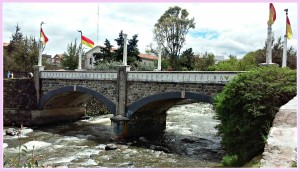 bridge in Cuenca