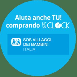 new4 NEW CLOCK - REGALA UN SORRISO, compra l'orologio solidale