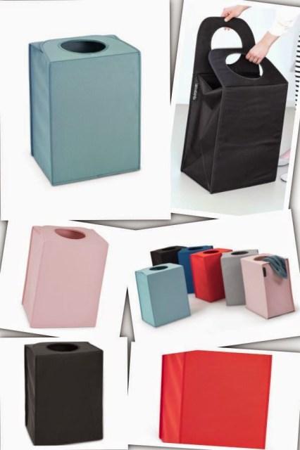 1bra Home/Design: BRABANTIA LAUNDRY BAG innovativa e versatile borsa per la biancheria