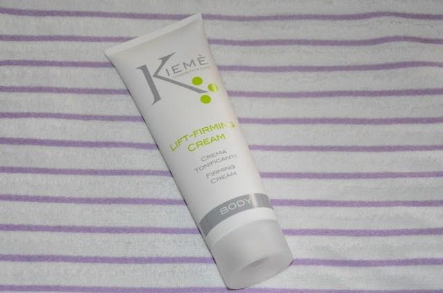 DSC_0441 KIEME Lift-Firming Cream crema tonificante corpo