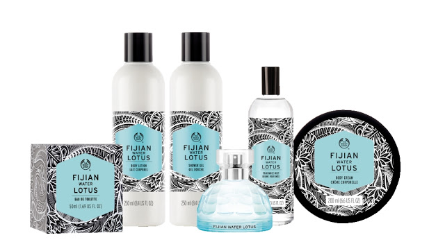Fijian_Water_Lotus_Linea THE BODY SHOP: VOYAGE COLLEZIONE  - ITALIAN SUMMER FIG anteprima