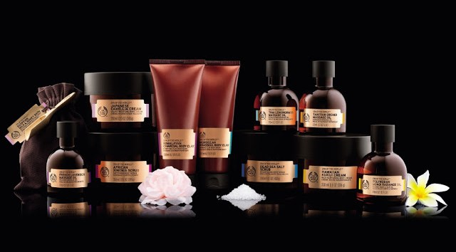 FullRange Rituale SPA OF THE WORLD - The Body Shop