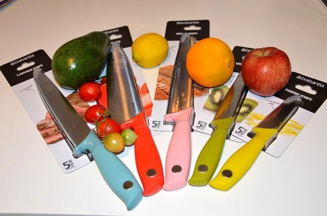 DSC_0080 Brabantia Tasty Colours - Ceppo e coltelli nei colori gustosi