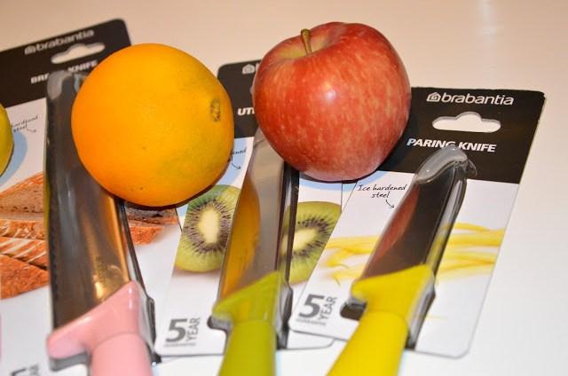 DSC_0084 Brabantia Tasty Colours - Ceppo e coltelli colorati