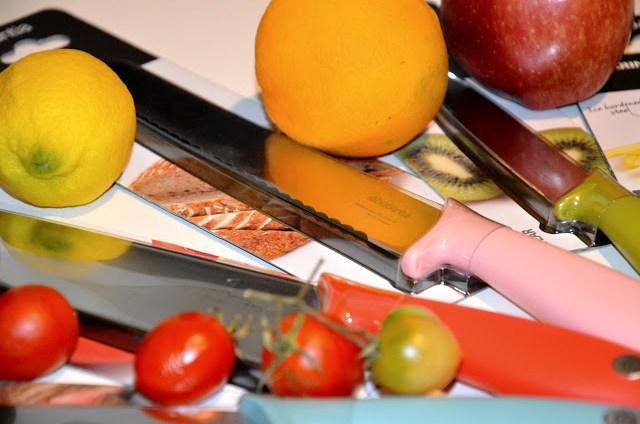 DSC_0088 Brabantia Tasty Colours - Ceppo e coltelli nei colori gustosi