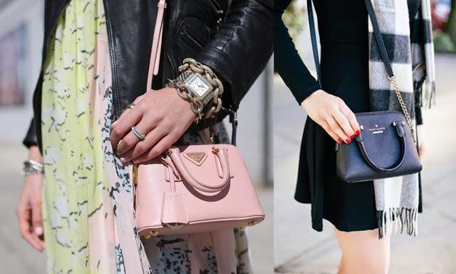 minibagpradakatespade Mini o micro bag, trend che va ancora di moda
