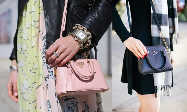 minibagpradakatespade Mini bag trend che va sempre di moda