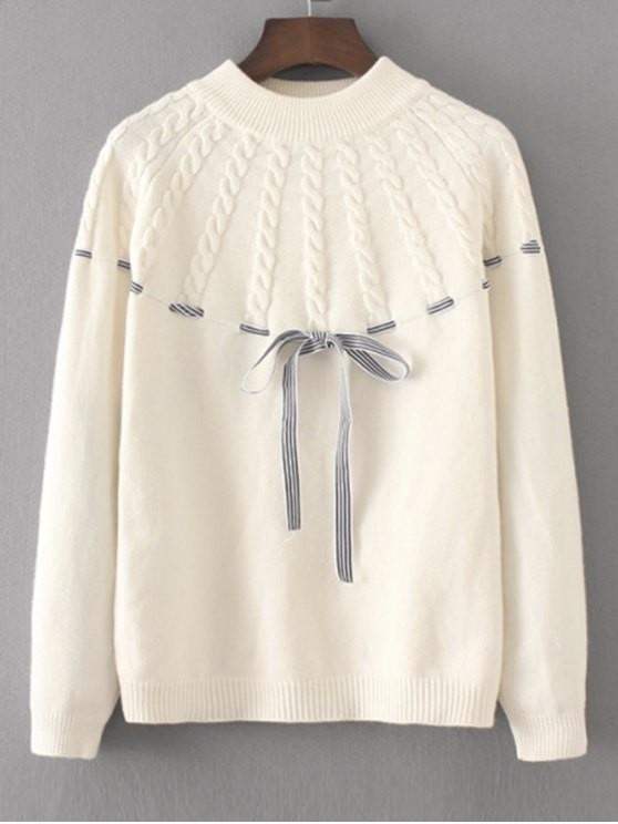 sweaterr Zaful maglione bianco