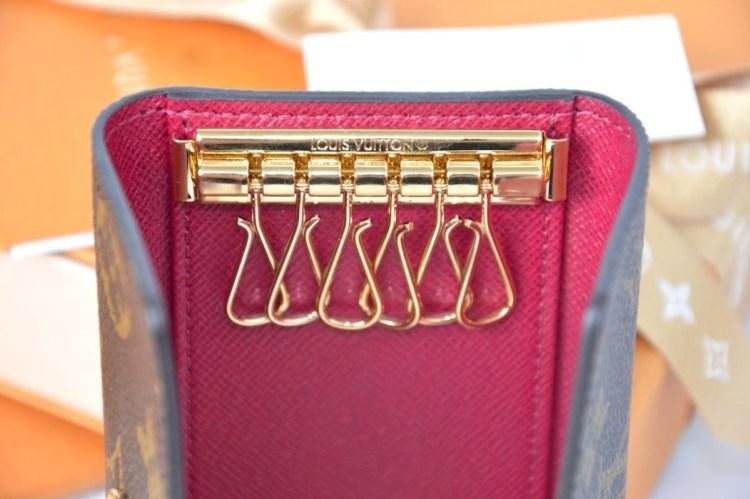 DSC_3170 Dove comprare un portachiavi di lusso? Multiclés 6 key holder Louis Vuitton portachiavi