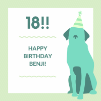 Happy Birthday Benji