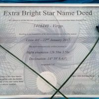 Name a Star Review and Giveaway
