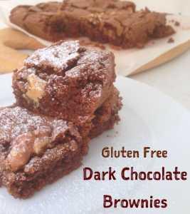 Gluten Free Dark Chocolate Brownies!