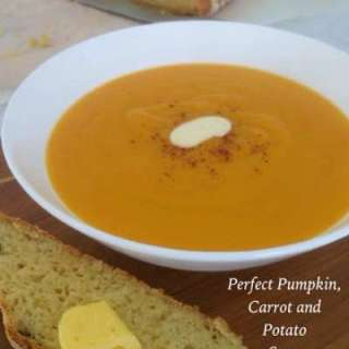 Perfect Pumpkin, Carrot and Potato Soup!!
