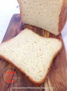 Sliced gluten free Bread
