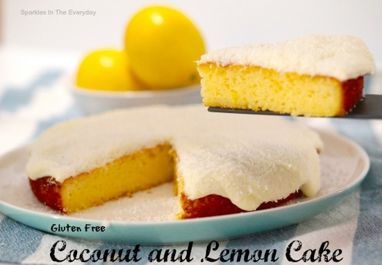Gluten Free Coconut and Lemon Cake