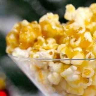 Gluten Free Salted Caramel Popcorn!