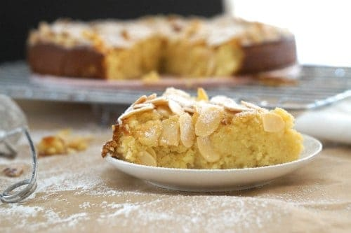 Gluten Free Lemon, Ricotta and Almond Cake