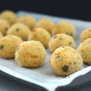 Gluten Free Tuna and Ricotta Balls!