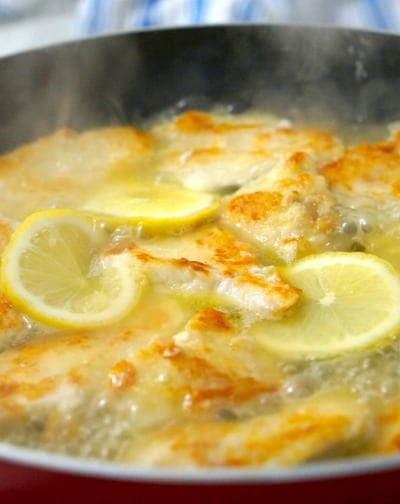 Cooking Gluten Free Lemon Chicken Piccata