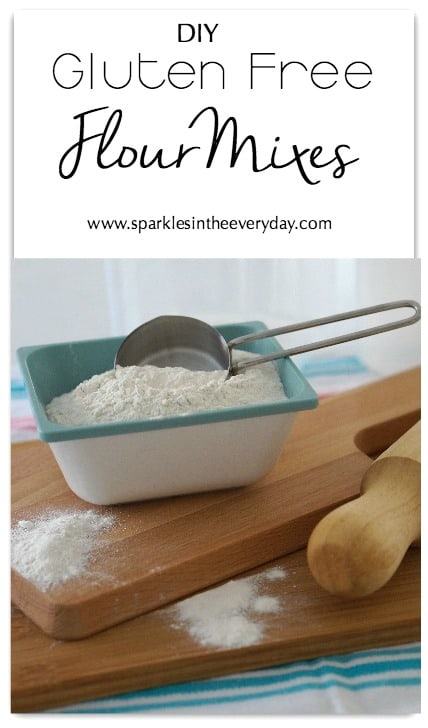 DIY Gluten Free Flour Mixes!!