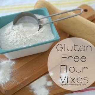 DIY Gluten Free Flour Mixes!