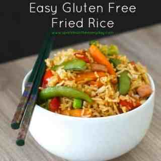 Tips to making Easy Gluten Free Fried Rice!