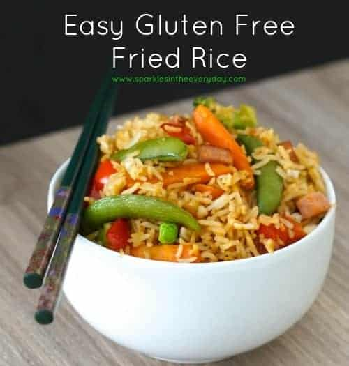 Easy Gluten Free Fried Rice. Most popular recipes and posts from 2016