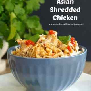 Slow Cooker Asian Shredded Chicken (GF)