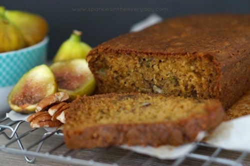 Easy Fresh Fig and Pecan Loaf (Gluten Free) Recipe