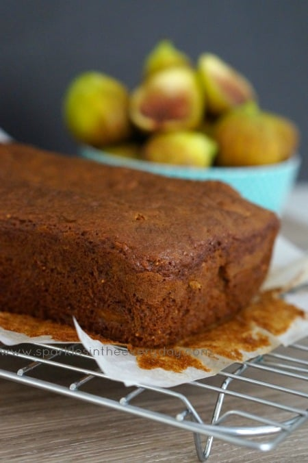 Fresh Fig and Pecan Loaf (Gluten Free) Recipe