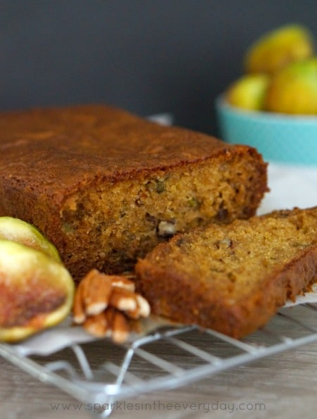 Gluten Free Fresh Fig and Pecan Loaf recipe!