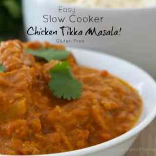 Easy Slow Cooker Chicken Tikka Masala!